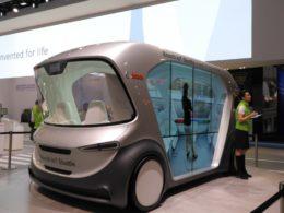 CES2019で展示された「Bosch IoT Shuttle」