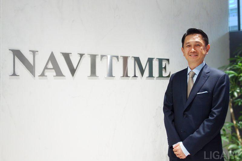 株式会社ナビタイムジャパン 代表取締役社長 大西啓介氏