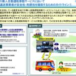 国交省 バス・タクシー事業者向けに無人自動運転サービスにおけるガイドラインを策定