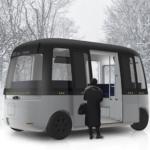 無印良品、フィンランドにて実用化を目指す全天候型自動運転シャトルバスへデザイン提供