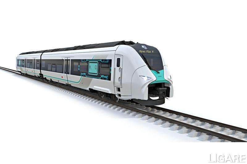 シーメンスモビリティの水素列車「ミレオプラスH」