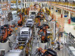 自動車生産イメージ画像
