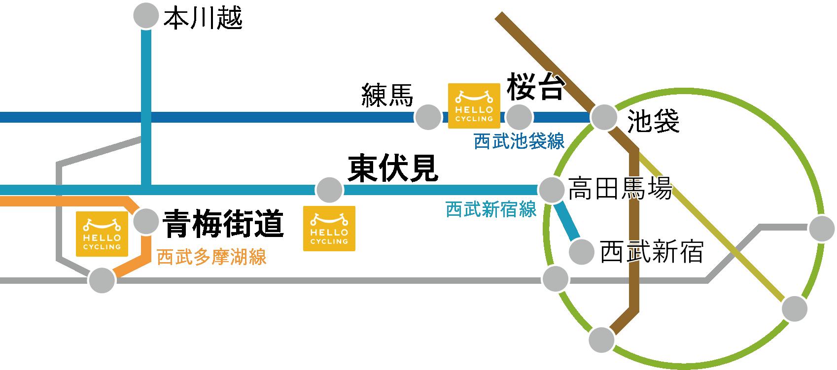 西武線プロパティーズマップ