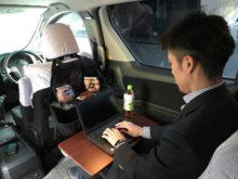 車内イメージ(「ビジネスパーソン」向け車両)
