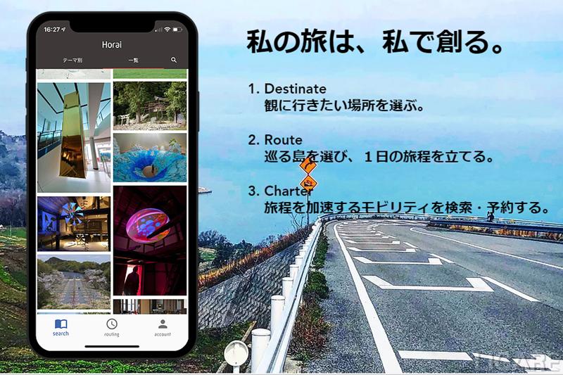 スマート観光コンシェルジュアプリ「Horai」