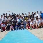 バリアフリーを楽しむ「須磨ユニバーサルビーチプロジェクト」