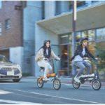 日本初、新機構をつけたglafitバイクが条件付きで自転車扱いに