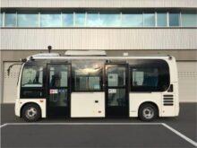 使用する自動運転バス