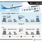 ANA CargoとCBcloudの「PickGo」、全国33空港に拡大