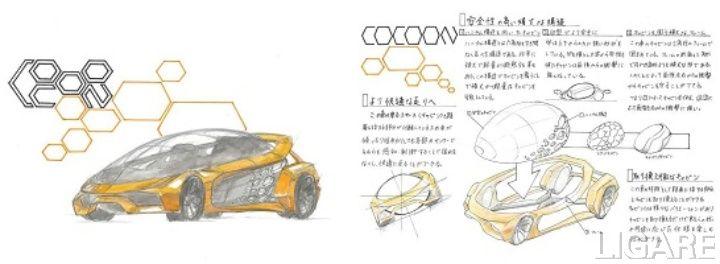 カーデザイン賞(中学生の部)「COCOON」