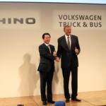 日野とVWが提携を発表、EV・自動運転の共同開発も