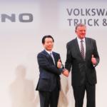 日野とVWが提携を発表 EV・自動運転の共同開発も