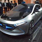 メルセデス・ベンツ 電気自動車普及への布石 「EQ」シリーズコンセプト発表 フランクフルトモーターショー2017