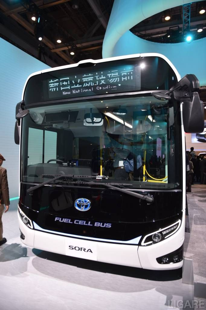 TOYOTA FUEL CELL BUS SORA