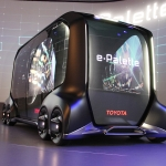 トヨタ自動車 友山茂樹副社長のコメント:「e-Palette Concept」について