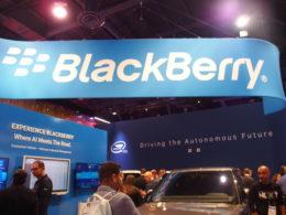 CES2020のBlackBerryブース