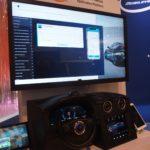 CES2020で公開したコネクテッドカー・プラットフォームのデモ