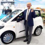 FOMM、「水に浮き、水面を進む」小型EV「FOMM ONE」 タイで量産化を経て、2020年春に日本投入を目指す