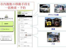 デマンド交通の一括検索・予約 実施イメージ