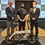 車両区分の切替が可能 ハイブリットバイクGFR glafitが日本初認定