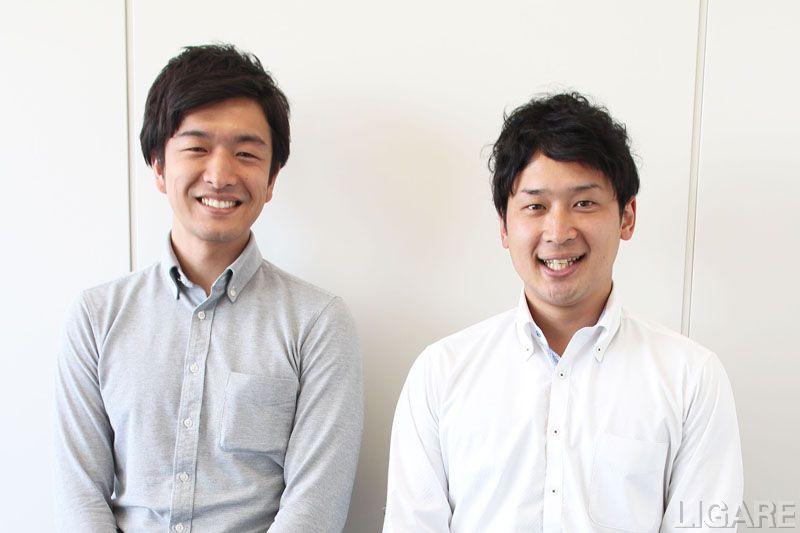 左:経営企画室 嶋田 悠介氏 右:IT戦略室 森脇 健吾氏