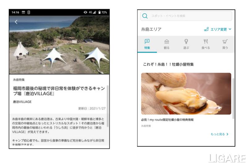観光情報のイメージ