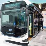 トヨタ 受け継がれていく街のアイコン 燃料電池バス「SORA」
