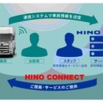 日野自動車、ICTを活用した「HINO CONNECT」の提供を開始
