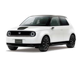 「Honda e」プラチナホワイト・パール