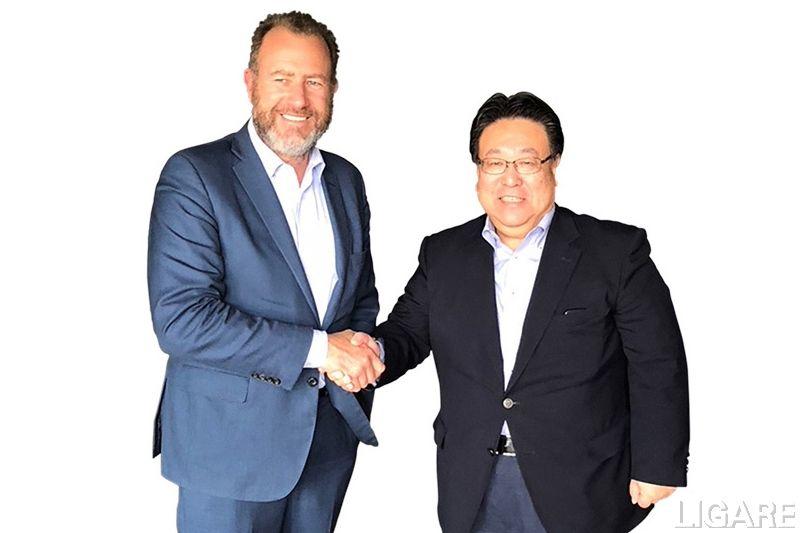 ダン・アマン General Motors社長、倉石誠司 本田技研工業株式会社 代表取締役副社長
