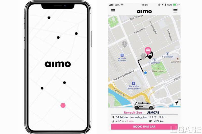 アプリの画面イメージ