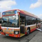 使用予定の大型ノンステップバス(プレスリリースより)