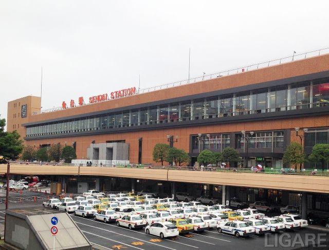 仙台駅前写真