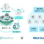 福利厚生サービスにモビリティデータ活用 スマートドライブとリロクラブが提携
