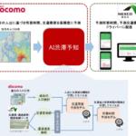 ドコモとNEXCO東日本、AI渋滞予知で自動車道の渋滞を予測 関越自動車道で実証実験