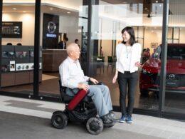 ⾃動⾞ディーラー店舗でWHILLの試乗・体験機会を増やす