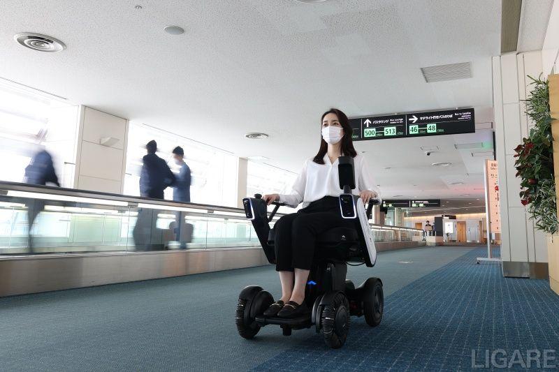 第2ターミナル内の走行風景(提供:日本空港ビルディング)