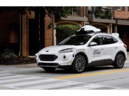 第四世代自動運転テスト車