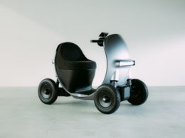 GLMのシニアカー コンセプトモデル