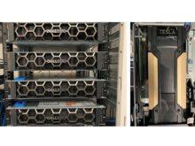 検証で使用したサーバー/検証で使用したGPUカード