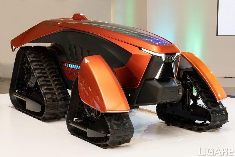 今年1月に発表したクボタのコンセプトトラクタ
