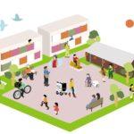 パナソニックとUR都市機構が共同研究の協定締結 住宅団地の共助型モビリティサービスの実現へ