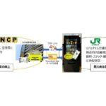 【JR東日本×パーク24】ロンドンでデジタル自販機のトライアル 道路情報など配信