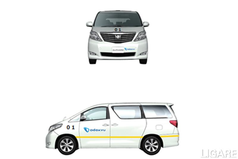 実証運行で使用する車両(イメージ)