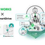 「SmartDrive Fleet」にLINE WORKSを導入 物流・タクシー・医療介護分野で活用