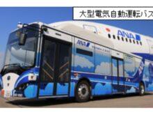 実験に使用する電気バス