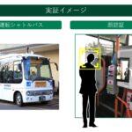 「シャトルバスに顔パス乗降」前橋版MaaSで検証開始