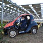 【千葉エコ・エネルギー】EV×ソーラーシェアリングで都市近郊農村の活性化を促進