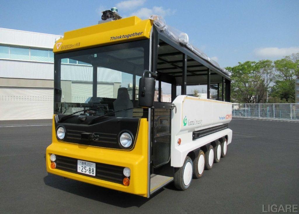 自動運転EV観光用モビリティ「eCOM-10(イーコムテン)」イメージ
