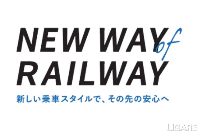 「新常態」に適応した鉄道利用を表すコンセプトワード
